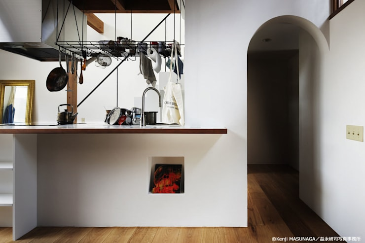 Hym house: ZERO ONE OFFICEが手掛けたキッチンです。,モダン