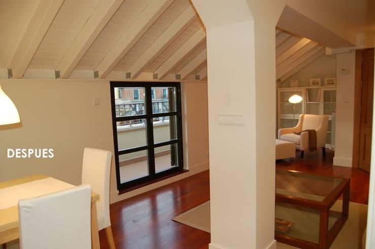 Rehabilitación de Edificio para Viviendas y Locales Comerciales:  de estilo  de BR&Co arquitectos