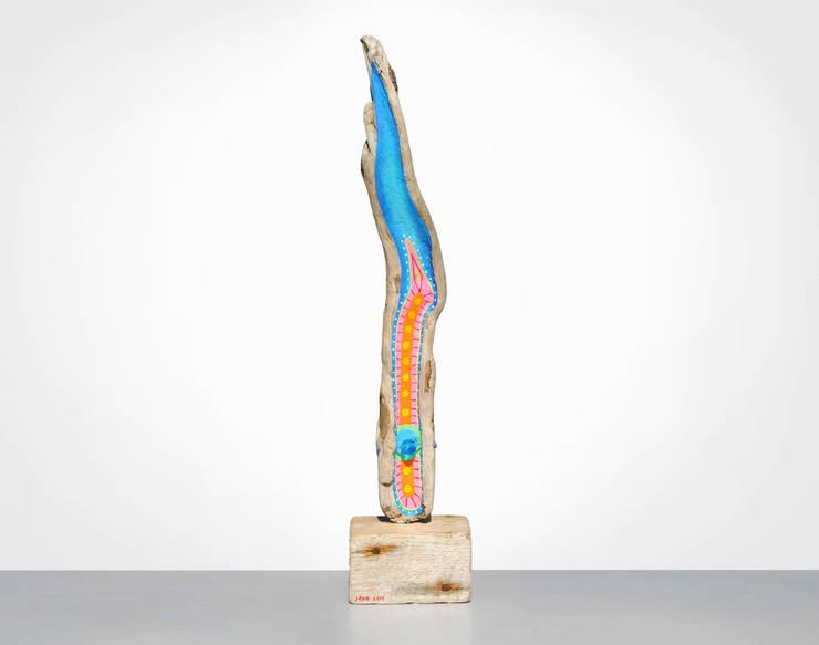 """Treibholz Skulptur """"Flammenmeer"""":  Kunst  von JEVO"""