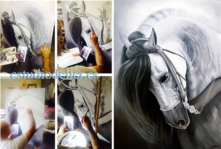 pintando en el estudio:  de estilo  de ESTUDIO DELIER, Clásico