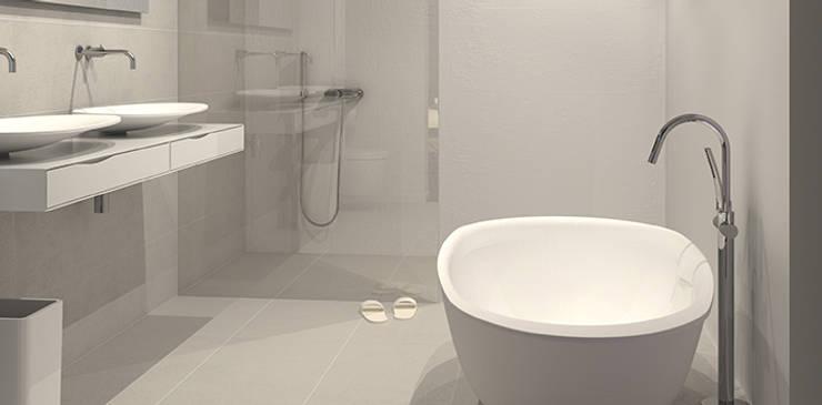 Design badkamer: moderne Badkamer door Intermat
