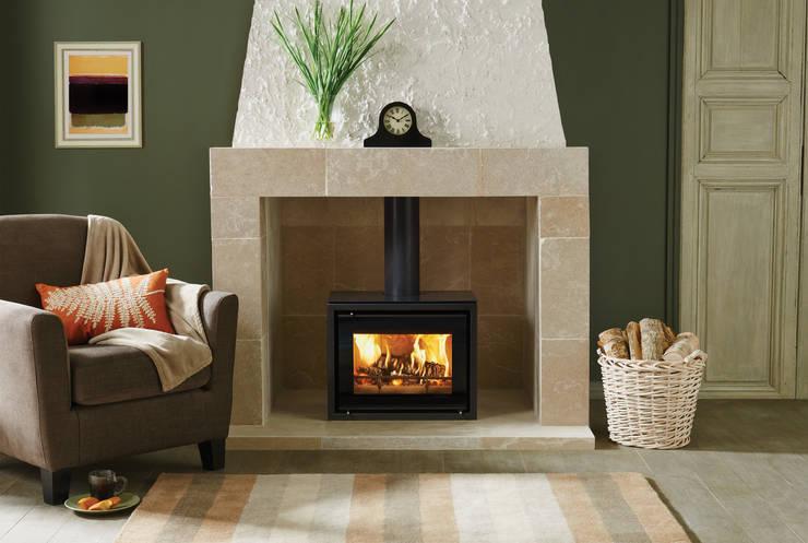rustieke & brocante Woonkamer door Stovax Heating Group
