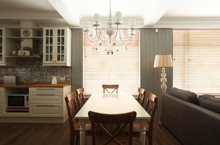 Столовая: Столовые комнаты в . Автор – ORT-interiors