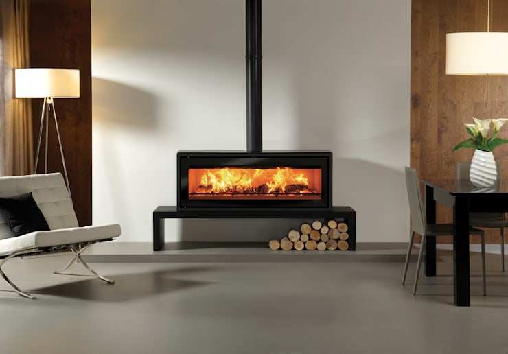 Living room by Stovax Heating Group