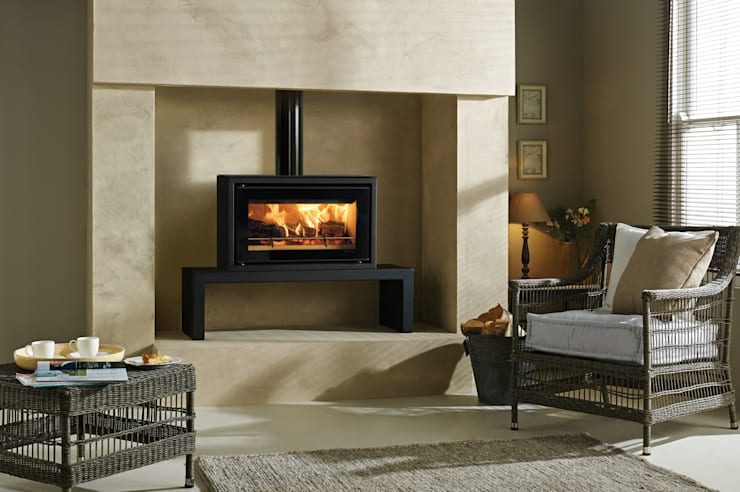 Salas de estilo  por Stovax Heating Group