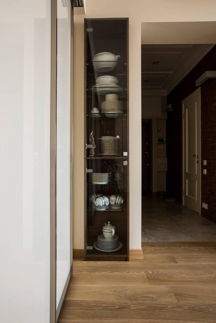 Стеллаж: Гостиная в . Автор – ORT-interiors