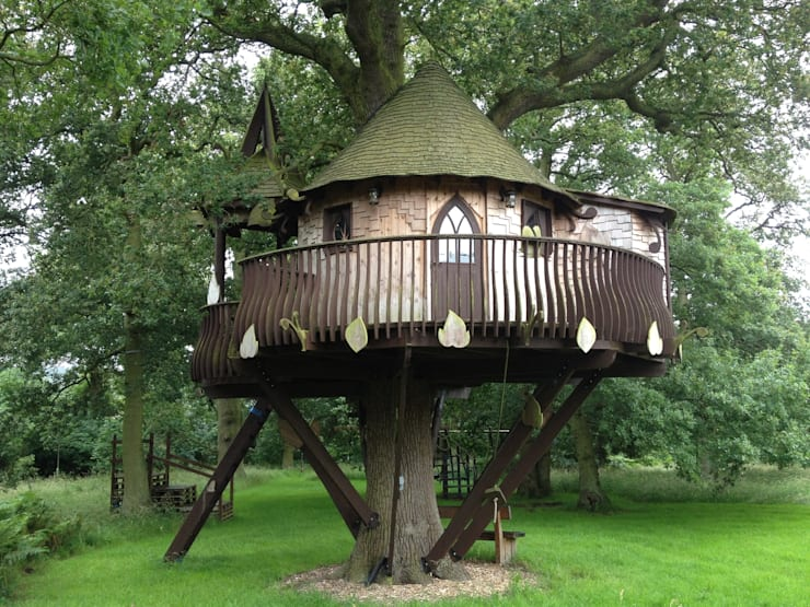 by High Life Treehouses