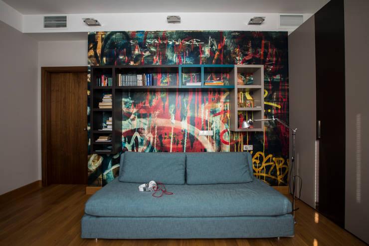 Комната для мальчика: Детские комнаты в . Автор – ORT-interiors, Минимализм
