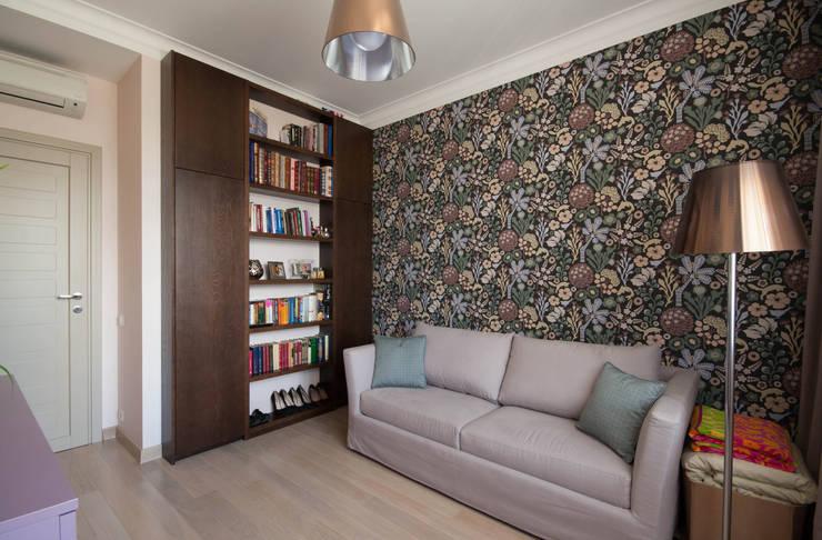 Кабинет: Рабочие кабинеты в . Автор – ORT-interiors