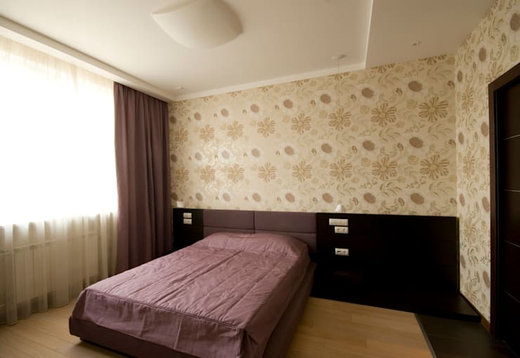 غرفة نوم تنفيذ ORT-interiors