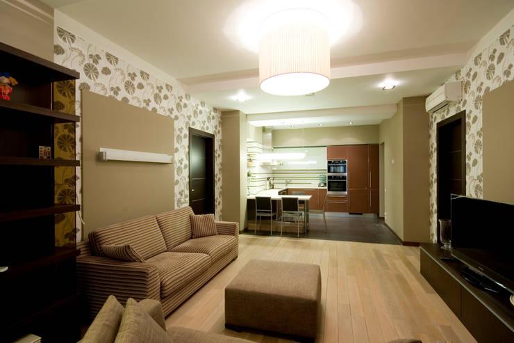 غرفة المعيشة تنفيذ ORT-interiors