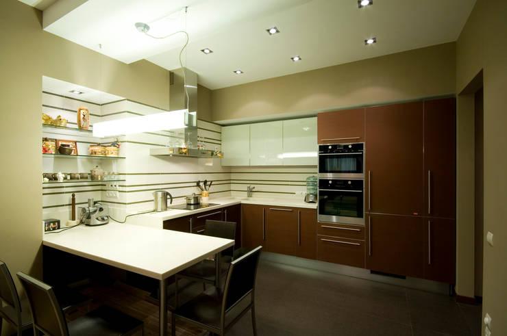 مطبخ تنفيذ ORT-interiors