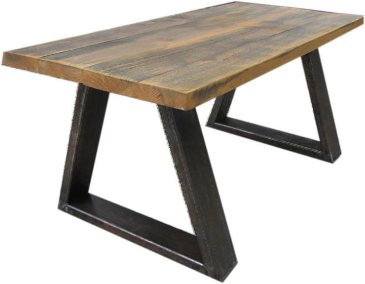 Ława industrial: styl , w kategorii Salon zaprojektowany przez Sklep Steel&Wood