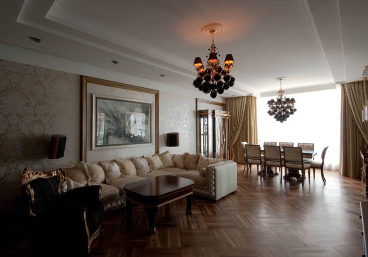 Гостиная: Гостиная в . Автор – ORT-interiors