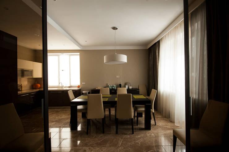 Кухня-столовая: Спальни в . Автор – ORT-interiors, Минимализм