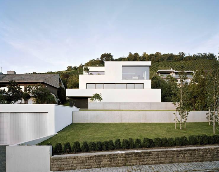 Projekty, nowoczesne Domy zaprojektowane przez steimle architekten