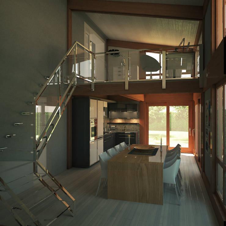 Salas de estilo  por 3dforme