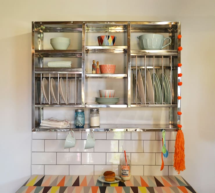Mighty Plate rack: industrial Kitchen by The Plate Rack