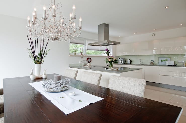 Comedores de estilo moderno de Architektur Jansen Moderno
