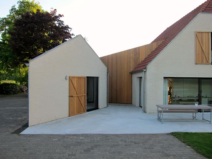 Tibbensteeg Hoonhorst:   door Tim Versteegh Architect