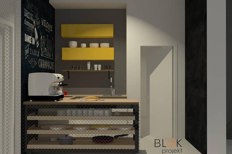 Jasna Sprawa Studio: styl , w kategorii Kuchnia zaprojektowany przez Blok projekt,Industrialny