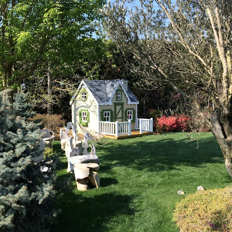 Minik Ev – Victorian:  tarz Bahçe