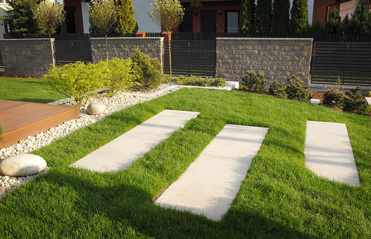 schody: styl , w kategorii  zaprojektowany przez Autorska Pracownia Architektury Krajobrazu Jardin ,
