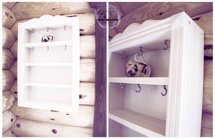 Drewniana kuchnia : styl , w kategorii Kuchnia zaprojektowany przez EnDecoration