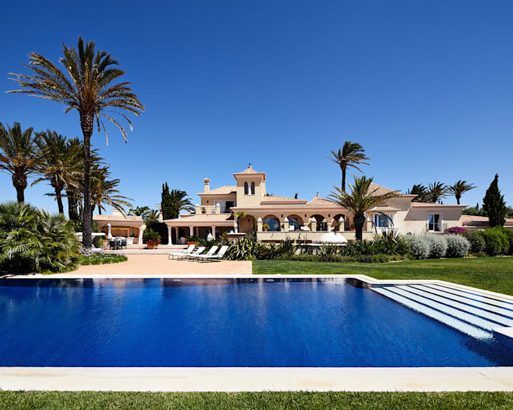 Casa das Tamaras, Praia da Luz, Portugal:  Häuser von Philip Kistner Fotografie