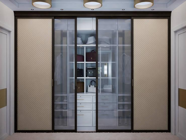 Квартира на Фрунзенской: Гардеробные в . Автор – LEO Company