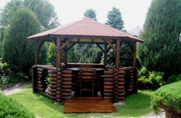 Jardín de estilo  de Drewnopol