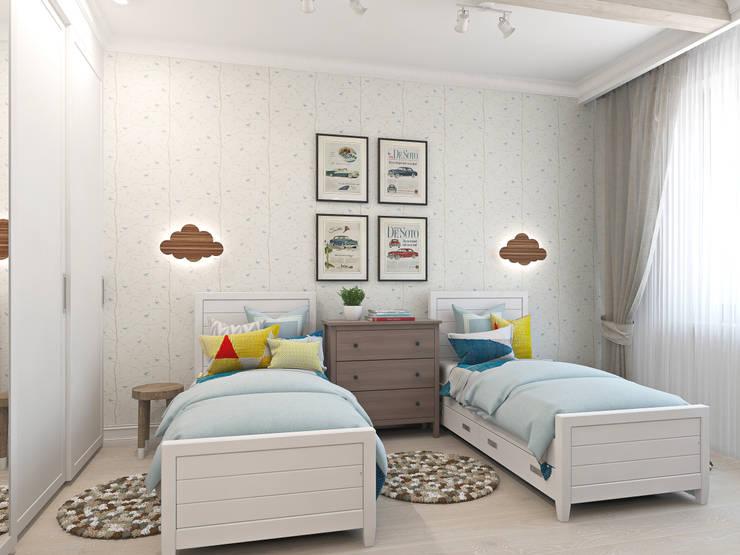 غرفة الاطفال تنفيذ Ekaterina Donde Design