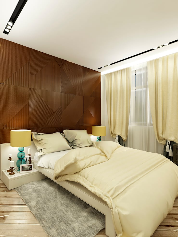 Квартира 200 м.кв в Измайлово: Спальни в . Автор – LEO Company