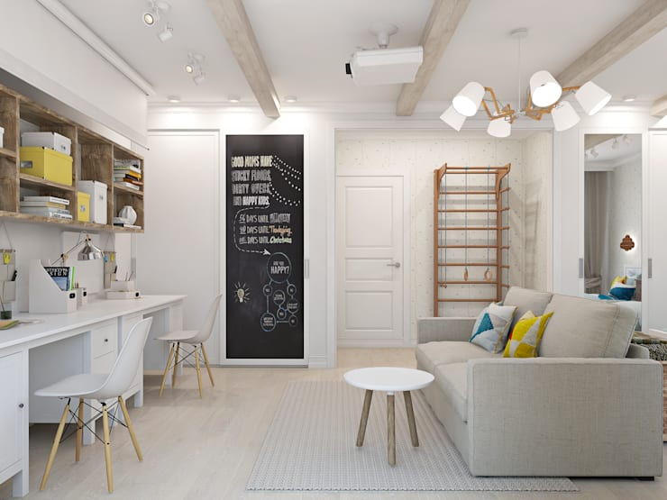 Nursery/kid's room by Ekaterina Donde Design