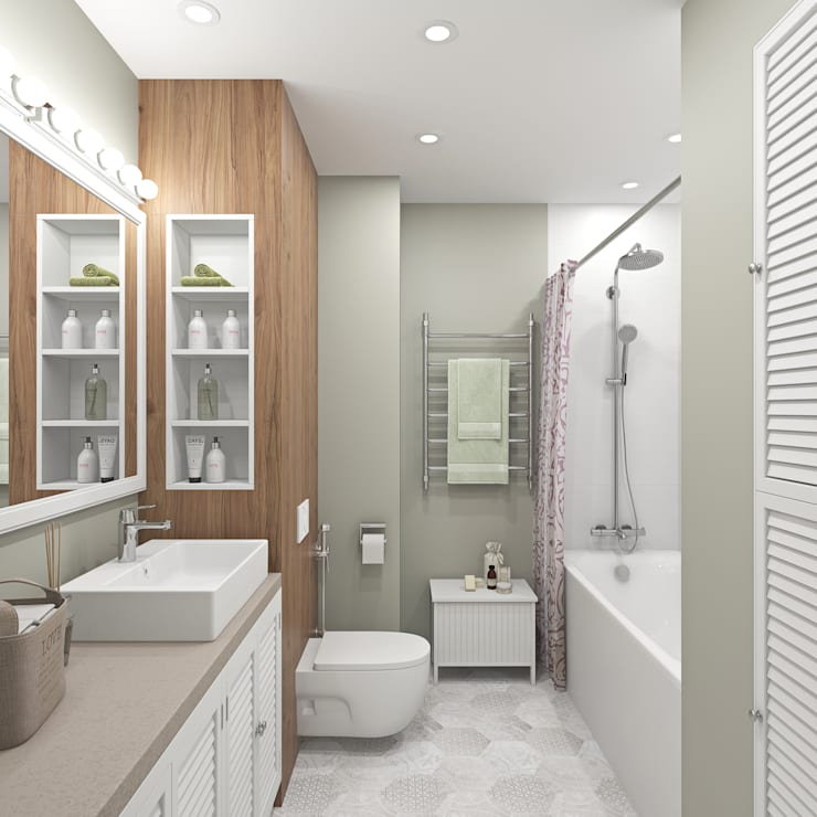حمام تنفيذ Ekaterina Donde Design