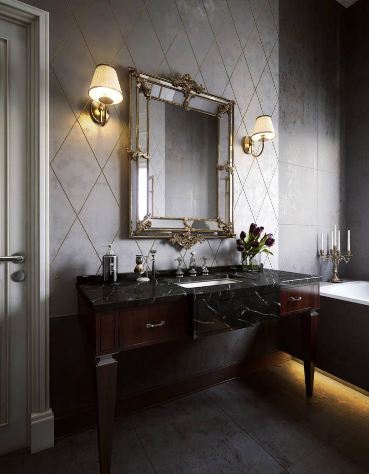 Ванная: Ванные комнаты в . Автор – Sergey Artiomov