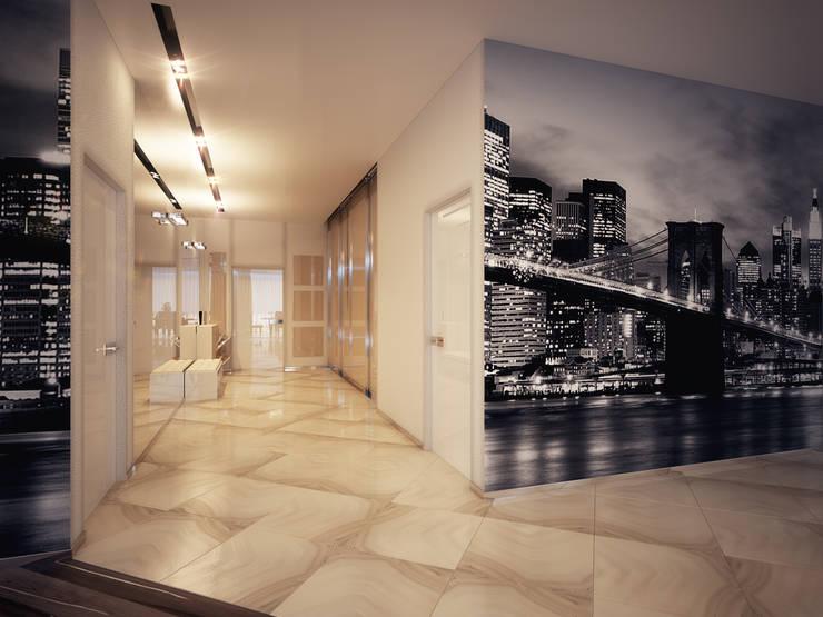 Квартира 200 м.кв в Измайлово: Коридор и прихожая в . Автор – LEO Company