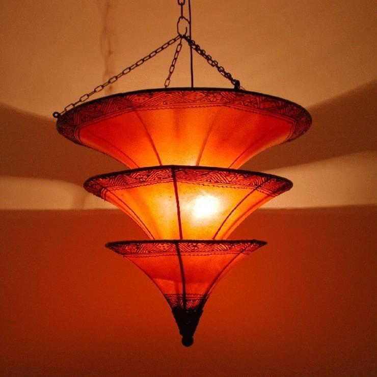 Lampa sufitowa henna RASHIDA: styl , w kategorii Miejsca na imprezy zaprojektowany przez DomRustykalny.pl