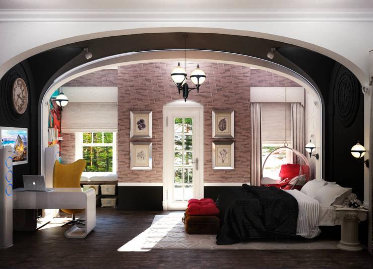 Спальня подростка: Спальни в . Автор – Настасья Евглевская,