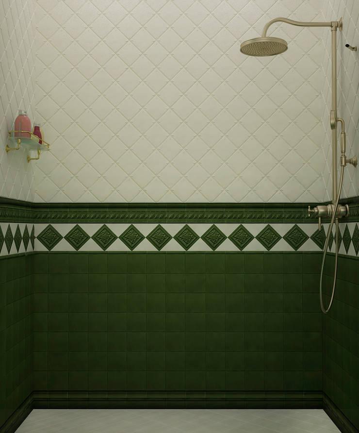Ванная классическая : Ванные комнаты в . Автор – Настасья Евглевская