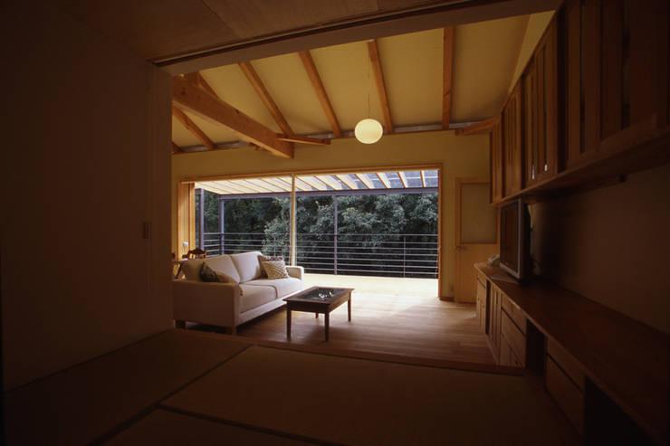 Terrace by 風建築工房