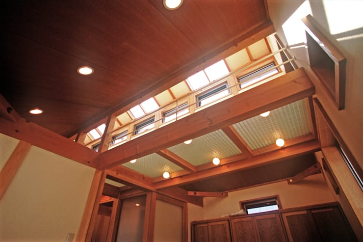 平和の家: 風建築工房が手掛けた寝室です。