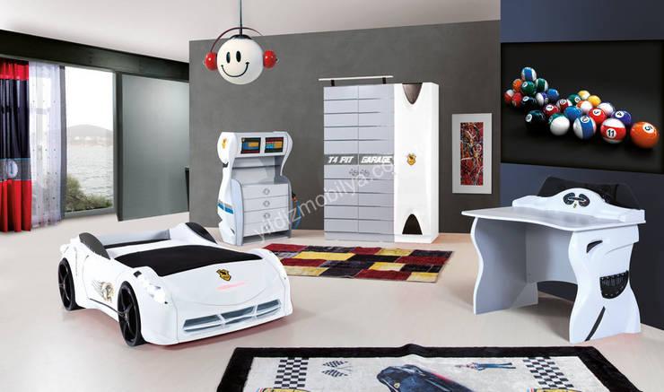YILDIZ MOBİLYA – TT genç odası: modern tarz Çocuk Odası