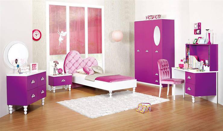 YILDIZ MOBİLYA – Color genç odası: modern tarz , Modern