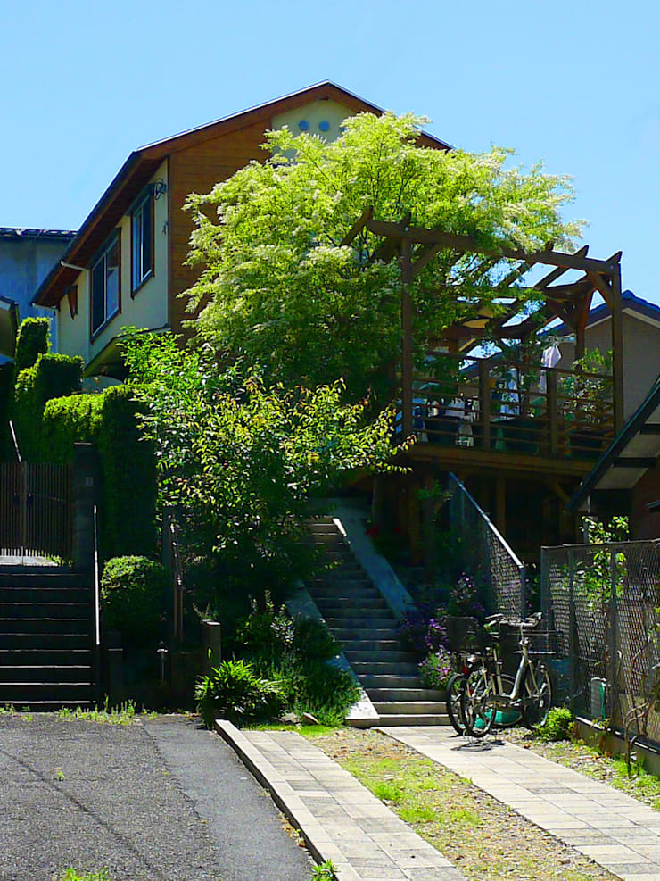 Scandinavian style houses by 風建築工房 Scandinavian