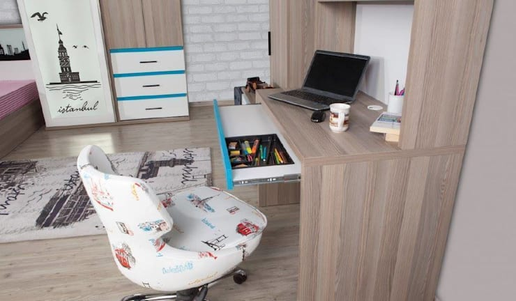 Alım Mobilya – İstanbul Çalışma masası: minimalist tarz , Minimalist