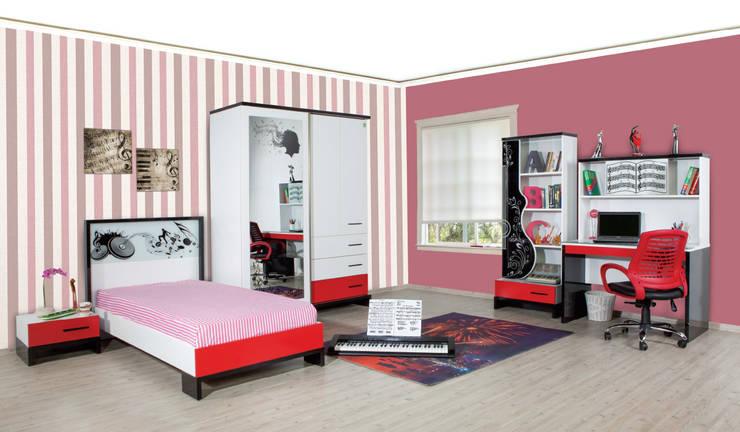Alım Mobilya – Melodi Young Room Set:  tarz Çocuk Odası