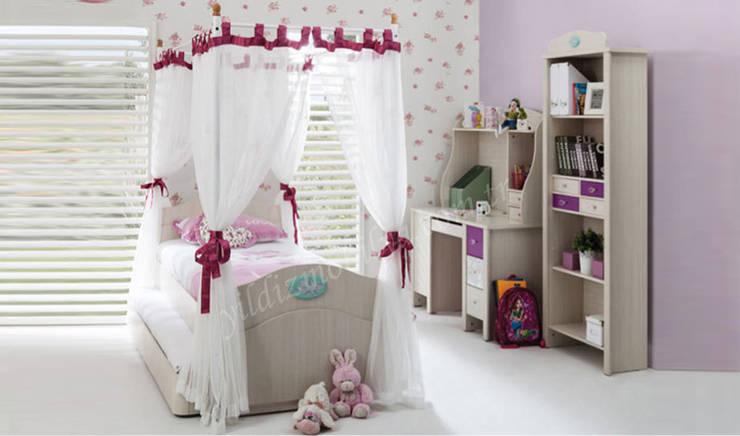 YILDIZ MOBİLYA – Nimbus genç odası: modern tarz Çocuk Odası
