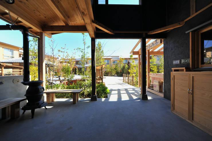 グループホーム・嬉楽家: 風建築工房が手掛けた和室です。