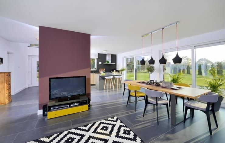 Столовые комнаты в . Автор – Heinz von Heiden GmbH Massivhäuser